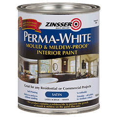 Zinsser Perma White Mould Mildew Proof Interior Paint Product Page