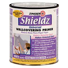 Zinsser Shieldz Universal Wallcovering Primer Product Page
