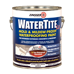 Zinsser 174 Watertite 174 Lx Mold Amp Mildew Proof Paint Product Page
